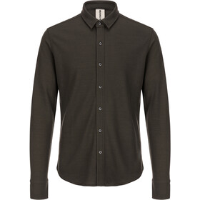 super.natural Piquet Shirt Miehet, killer khaki